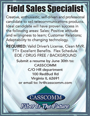 Cass Communications Help Wanted