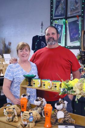 Turning the page – Phyllis and Mike Dour, who've owned Millard Florist, will close their store July 3, and look to begin a new chapter in their lives. (Photo by Brian DeLoche.)