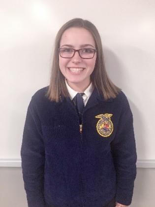 Gretchen Swartz of the Beardstown FFA Chapter competed in the FFA State Virtual Extemporaneous Speaking Contest. Gretchen placed 8th overall at the state level.