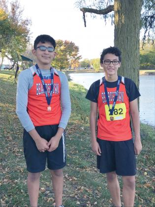 Sectional Winners –Darren Lopez and Joel Sosa