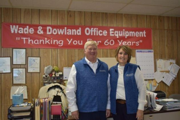 Wade & Dowland in Jacksonville, owned by Steve and Kelly Quigg, is marking its 60th anniversary this year.